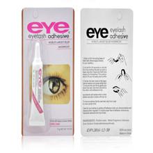 Beauty Makeup False Eyelashes Makeup Adhesive Waterproof Eye Lash Glue Color Black(China (Mainland))