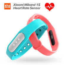 New Original Xiaomi Mi Band 1S Heart Rate Monitor Smart Wristband Xiaomi Miband Bracelet 1 S IP67 Bluetooth For Android IOS
