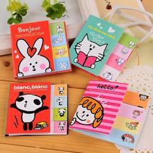 Paper 2015 Limited Loose Leaf Hot Sale No Notebook Sticky Notes C207 Korea Meng Animal Girl Two Fold Facilitate N Times Stickers