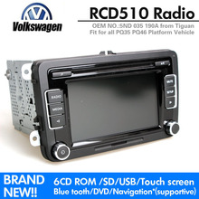 VW Car Radio Stereo RCD510 Original Radio OPS With Code For VW Golf 5 6 Jetta CC Tiguan Passat without Reverse Image interface(China (Mainland))