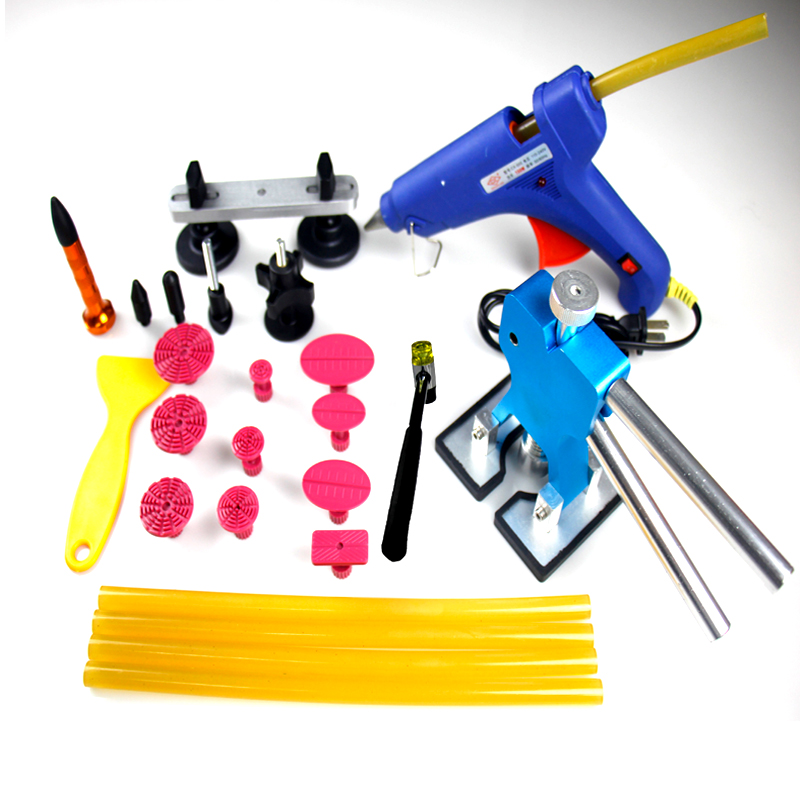 Wholesale high quality 31pcs/sets paintless dent repair Tools for car Blue dent lifter<br><br>Aliexpress