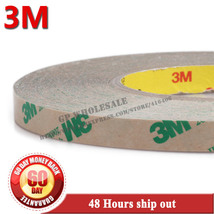 1x 45mm*55M*0.13mm 3M 468MP 200MP, Metals, Paints, Wood, Bonding Together for Automotive Appliance(China (Mainland))