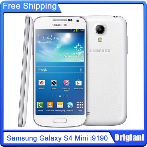 Original Samsung Galaxy S4 mini i9190 4.3''HD Dual-Core CPU-1.7GHz 8MP 8GB Android 4.2 3G WIFI Unlocked Phone Refurbished(China (Mainland))