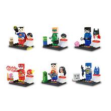 El nuevo venir serie Avengers 6 unids/set Minifigures Building Blocks 79022 compatible con Lego juguetes para bebés LR-541
