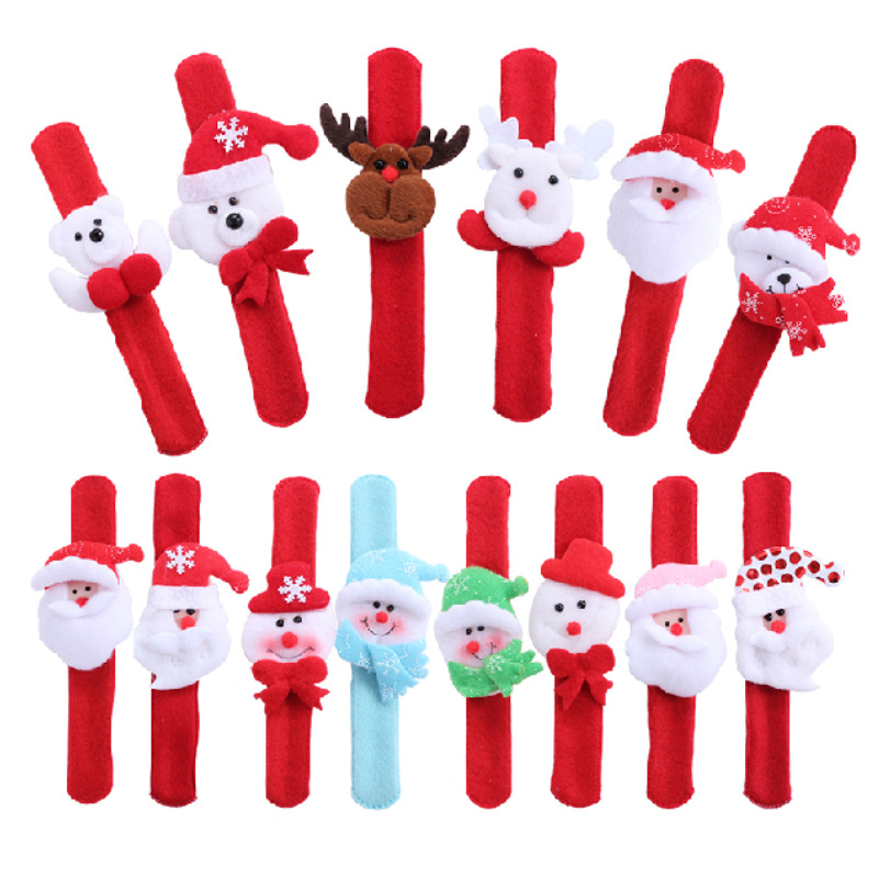 Christmas ornaments light clap circle cute doll hand ring Christmas decorations Last Christmas gift to the child(China (Mainland))