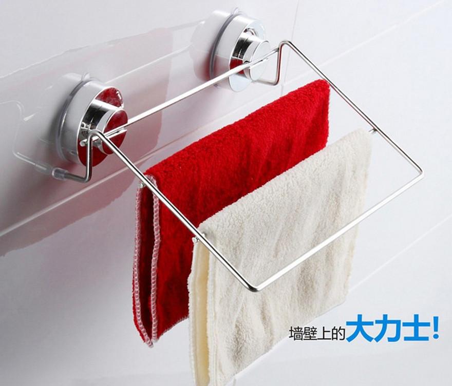 Porte serviettes mur promotion achetez des porte for Aspiration salle de bain