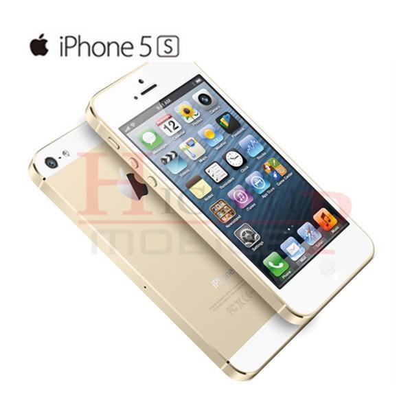 Sealed box Original Factory Unlocked apple iphone 5s phone 16GB 32GB 64GB ROM IOS GPS GPRS LTE 4.0 inch fingerprint Used