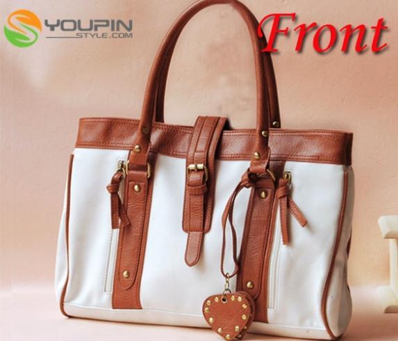 New Korean Fashion Style Womens Hobo leather Handbag Shoulder Bag White EP98(China (Mainland))