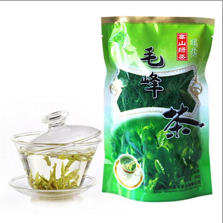 Free shipping early spring organic green tea China Huangshan Maofeng tea Fresh the Chinese green tea