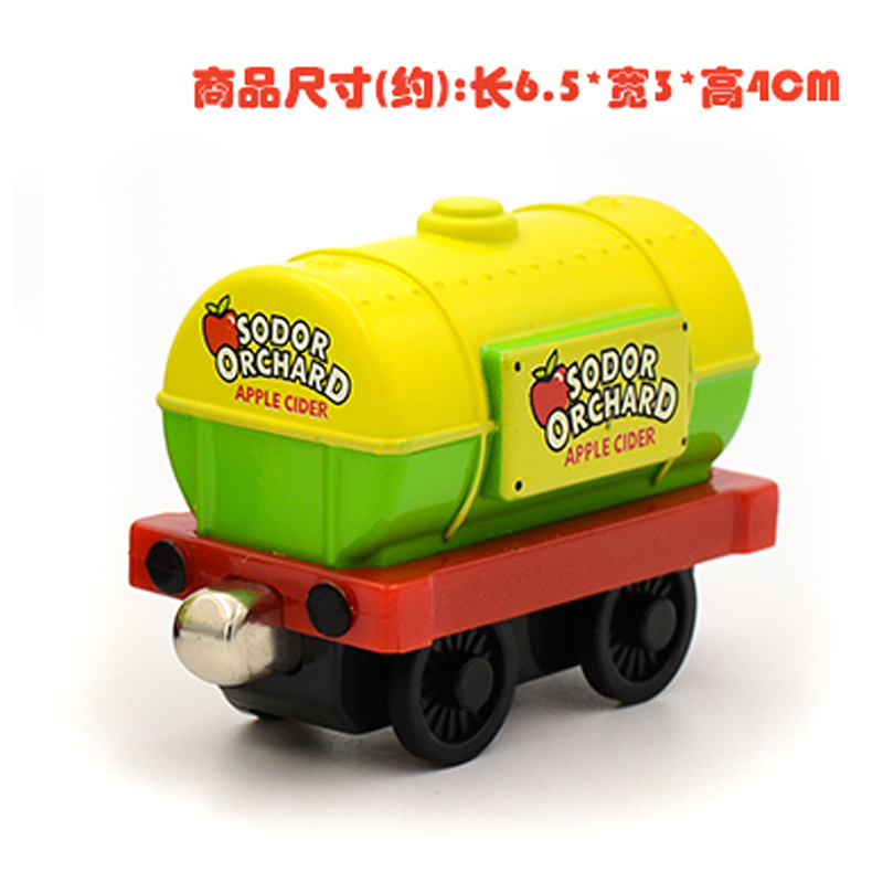 X143 new diecast magnetic Thomas & Friends alloy sodor orchard apple cider transport Tanker trucks children toy Limited Edition(China (Mainland))