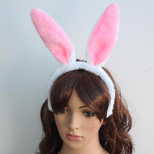 Halloween Party Prom Lovely Animal Bunny Rabbit Ears Headband for Lady Cosplay Costume Dress Up Accessory(China (Mainland))