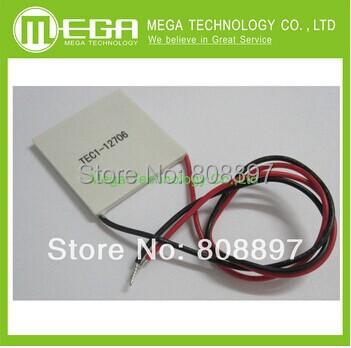 Гаджет  1x TEC1-12706 91.2W TEC Thermoelectric Cooler Peltier None Электронные компоненты и материалы