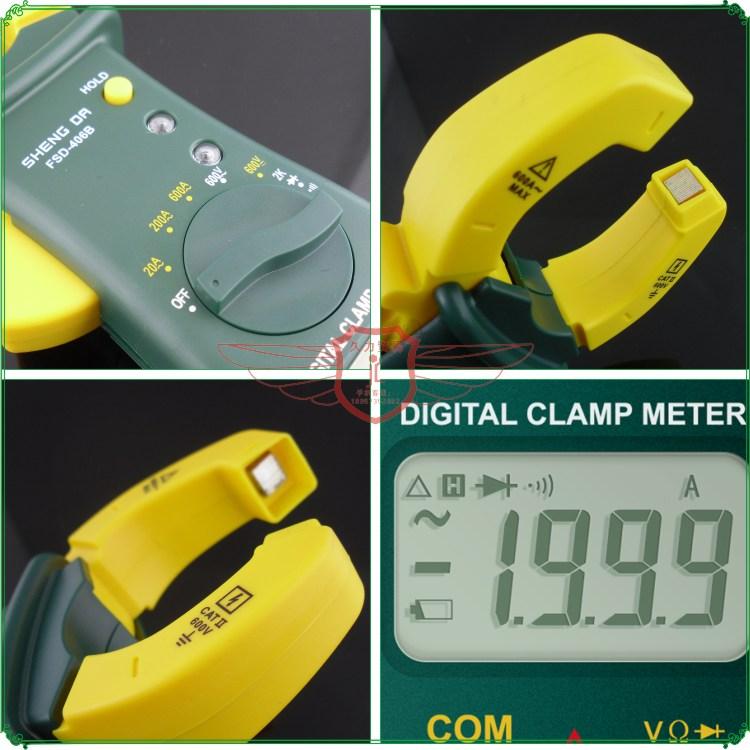 Shengda tool 406B digital clamp meter Clamp multimeter digital ammeter current meter<br><br>Aliexpress