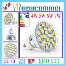 New Brand Eyourlife 220v GU10 3528/5050 SMD LED SPOTLIGHT LED Ceiling spot light home/studio/exhibition lighting energy saving