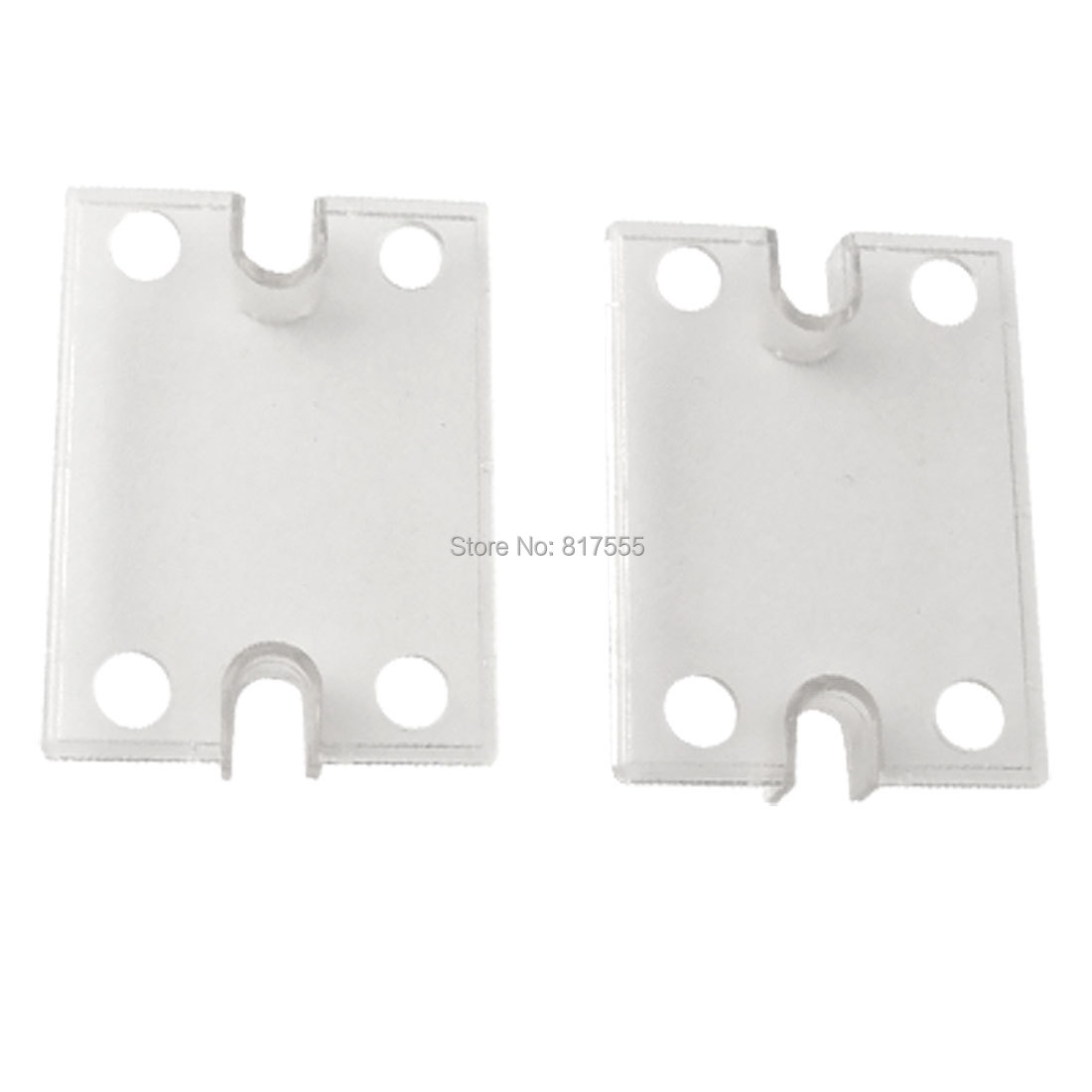 Single Phase Solid State Relay SSR Safety Cover Clear Plastic Covers x 2pcs<br><br>Aliexpress