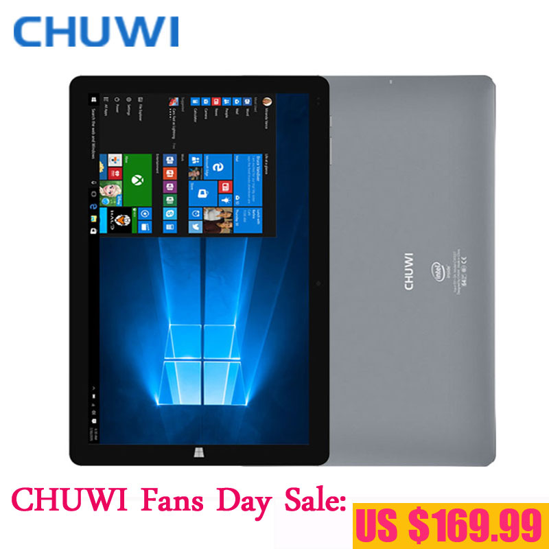 CHUWI Fans Day! 10.8 Inch CHUWI Hi10 Plus Dual OS Tablet PC Windows 10 Android 5.1 Intel Atom Z8350 Quad Core 4GB RAM 64GB ROM(China (Mainland))