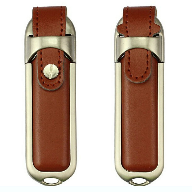 Real Capacity ! Leather USB stick 4GB 8GB 16GB 32GB 64GB 128GB 256GB 512GB Pen Drive Gift USB Flash Disk stick USB flash drive(China (Mainland))