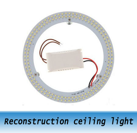 10W Annular LED ceiling reconstruction plate constant current power supply / Magnetic lamp panel Lights<br><br>Aliexpress