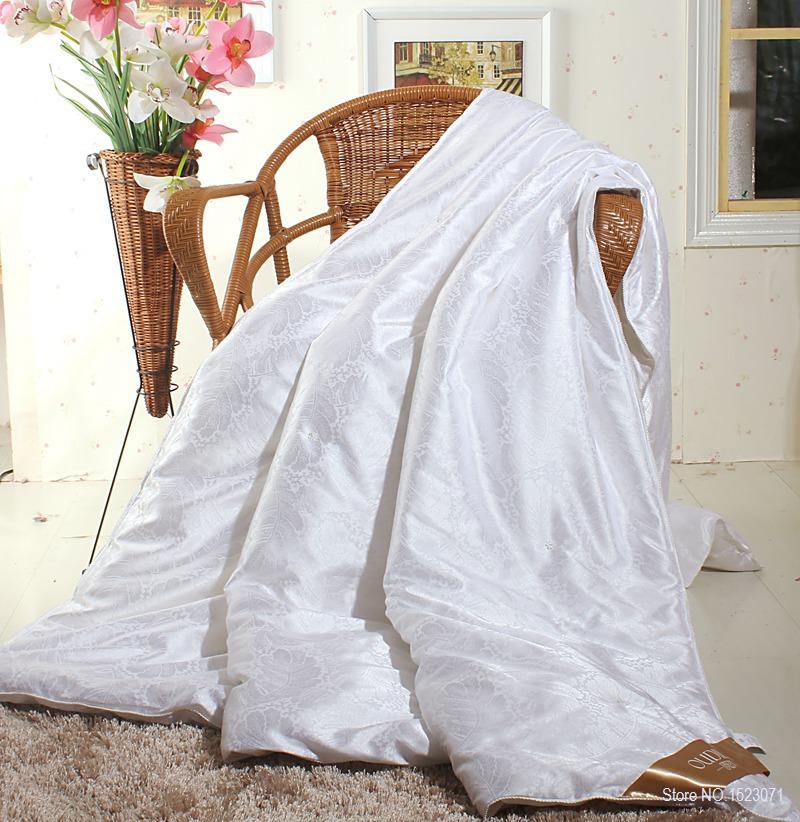 Brand 100% mulberry silk comforter for winter/summer king queen full twin size white/red color quilt/duvet/blanket filler/Insert(China (Mainland))