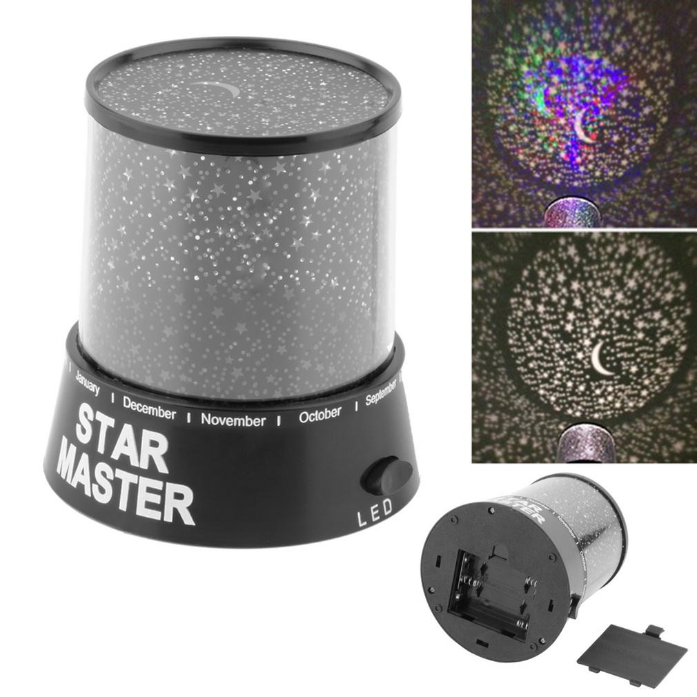 Good Gift 4 LED Starry Star Master Gift night light For Home Sky Star Master Light LED Projector Lamp Novelty Amazing Colorful(China (Mainland))
