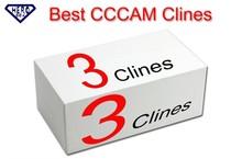 España alemania francés europa CCCAM 3 Clines uso para un año. puede tener prueba clines. para TV vía satélite receptor soporte CCCAM C-Line(China (Mainland))
