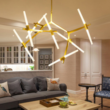 Modern Hill Agnes Chandelier Minimalist Art Decoration Branch Agnes Lamp Dinning Room Living Room Agnes Chandelier(China (Mainland))