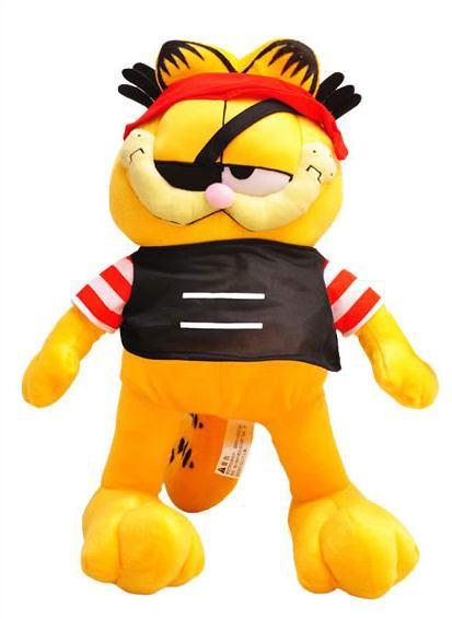 Top Quality About 44cm Plush Toys Pirate Garfield doll Cute cat Girlfriend Gift Birthday Gift Present Kids Children Christmas