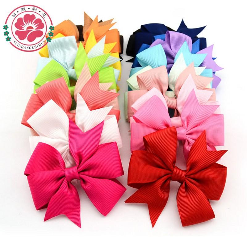 baby bows hair bow children's hair clips Bowknot hairpin hairclip baby accessories(China (Mainland))