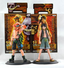 Buy 2015 New Japan Anime One Piece Monkey.D.Luffy Portagas D Ace PVC Action Figure Set Toys Gifts Free KB0555 for $8.69 in AliExpress store