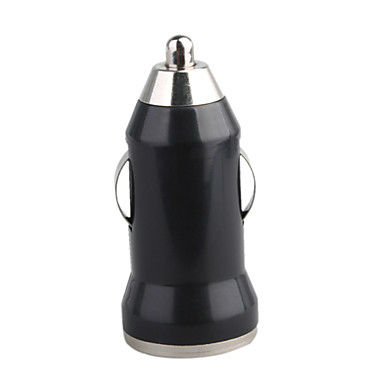 Whosale,Mini USB Car Charger Vehicle Power Adapter ,Bullet Travel Plug  for Iphone Sumsung ,mobile phone,table pc accery(China (Mainland))