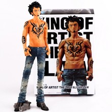 New The King of Artist Japanese Anime One Piece Law Death Surgeon Action Figure Onepiece PVC Figures