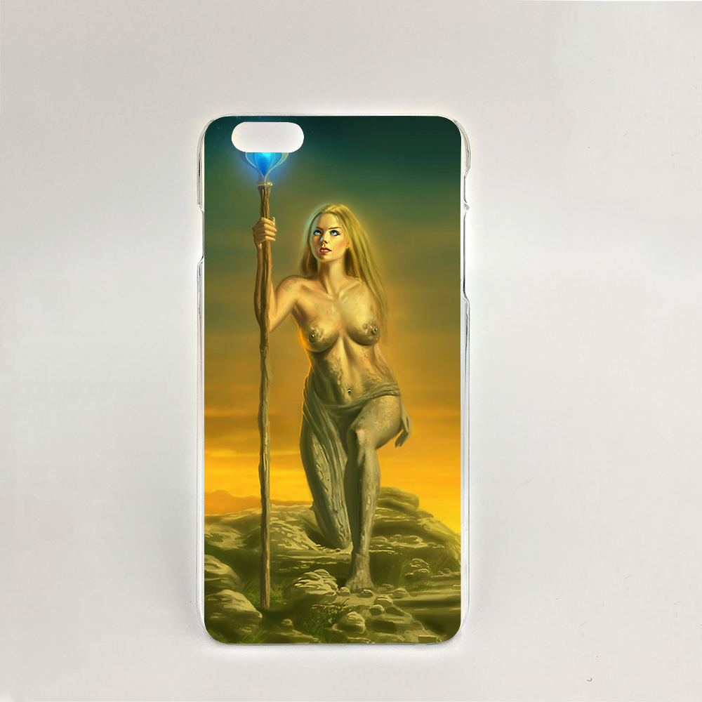 11745 sexy Awakening girl magic Hard transparent Cover cell phone Case for iPhone 4 4S 5 5S SE 5C 6 6S Plus 6SPlus(China (Mainland))
