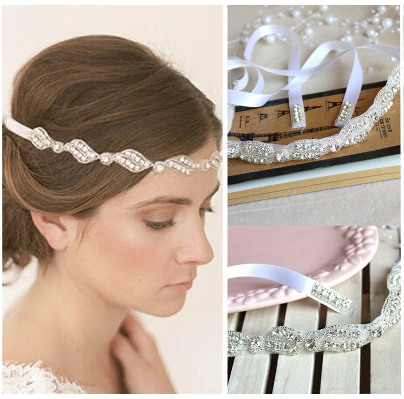 Fashion Hairwear Bridal Hair Headbands Wedding Hair Jewelry With Crystals Women s Bijouterie Fine Jewelry FD126