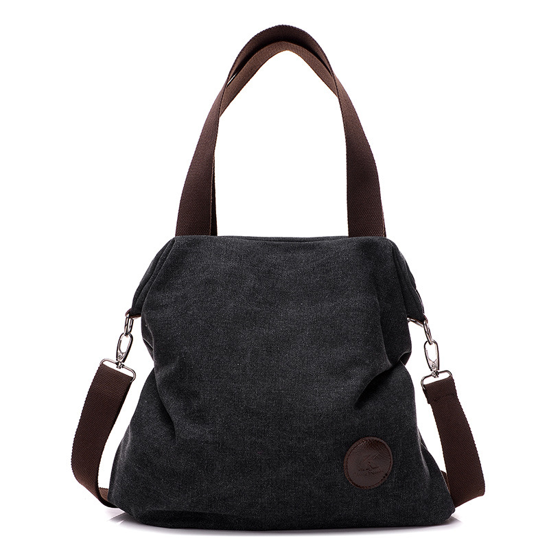 Fabra Canvas Women Messenger Bags Big Capacity Solid Handbags Casual Ladies Shoulder Cross Body Shoulder Hobo Bags 41*10*38 Cm(China (Mainland))