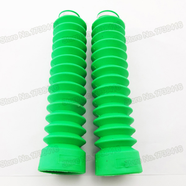 Rubber Front Fork Protector Green For Pit Dirt Bikes Motorcycles Atv Quads Motocross Brand New High Quality(China (Mainland))