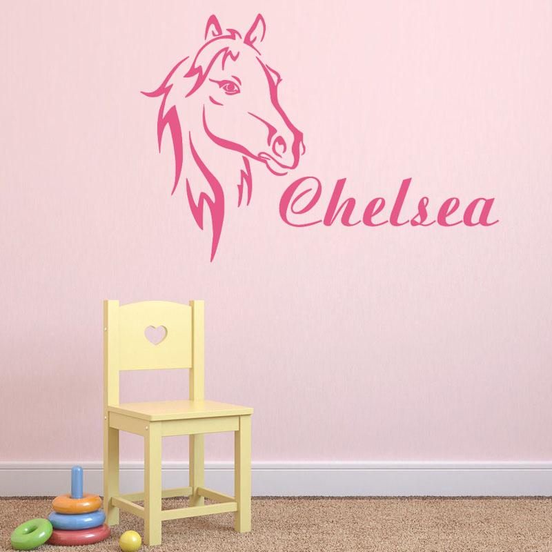 лошадь наклейка