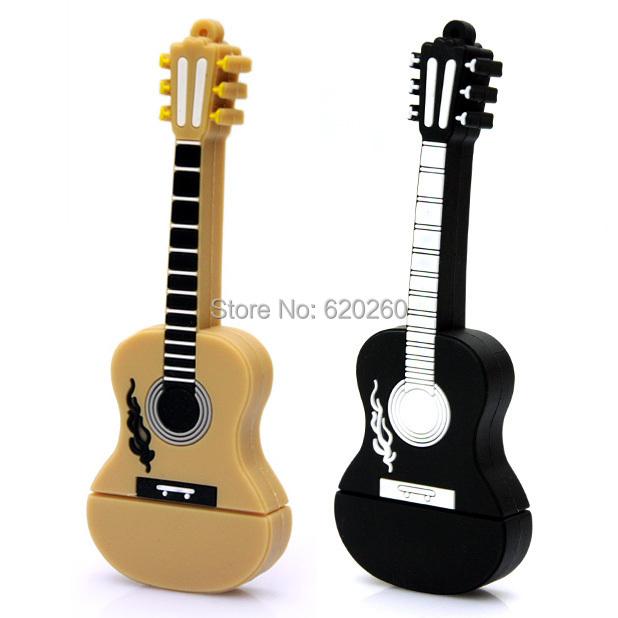 Hot sale, Musical Instrument Guitar Usb Flash Drive / Usb Memory Stick 2GB 4GB 8GB 16GB 32GB,Flash Memory Stick Pen Drive Disk(China (Mainland))