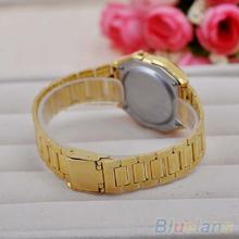 Men Women Vintage Stainless Steel LED Digital Stopwatch Sports Wristwatches 1LN7