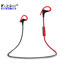 Kubite Bluetooth Headphone Bluetooth V4.1 Wireless Stereo Sports Running Headset Earphone Sweatproof Handsfree With Mic(China (Mainland))