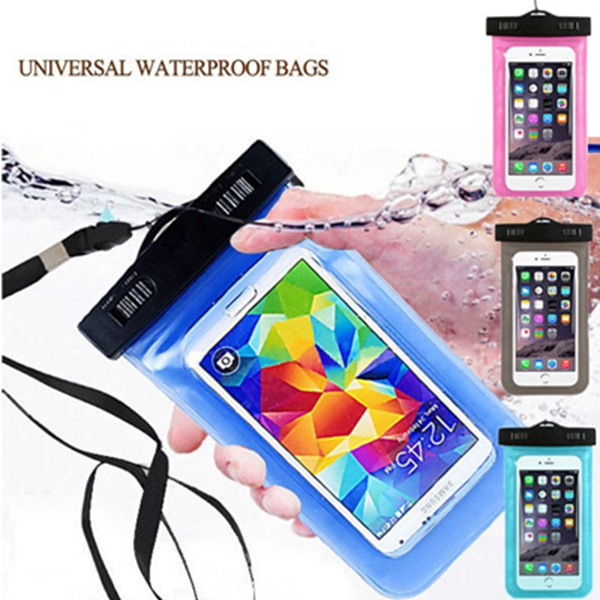 1pcs Waterproof Dust Proof Bag Underwater Pack Cover Case Pouch for iPhone 4 s 5 5c 5s 6 6plus for Samsung galaxy S4 s5 s6 s7(China (Mainland))
