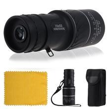 Day & Night Vision 16 x 52 Dual Focus óptico Monocular acampa de la caza telescopio