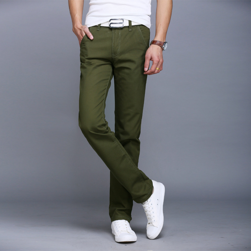 Online Get Cheap Skinny Khaki Pants Mens -Aliexpress.com | Alibaba ...