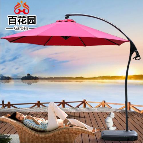 Commercial outdoor patio 3 meters large umbrella beach sun umbrellas Celi unilateral balcony terrace<br><br>Aliexpress