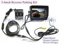 5.6inch Car Rear View Camera +HD Waterproof Camera Bus Camera Kit for Bus Truck Horse Trailer