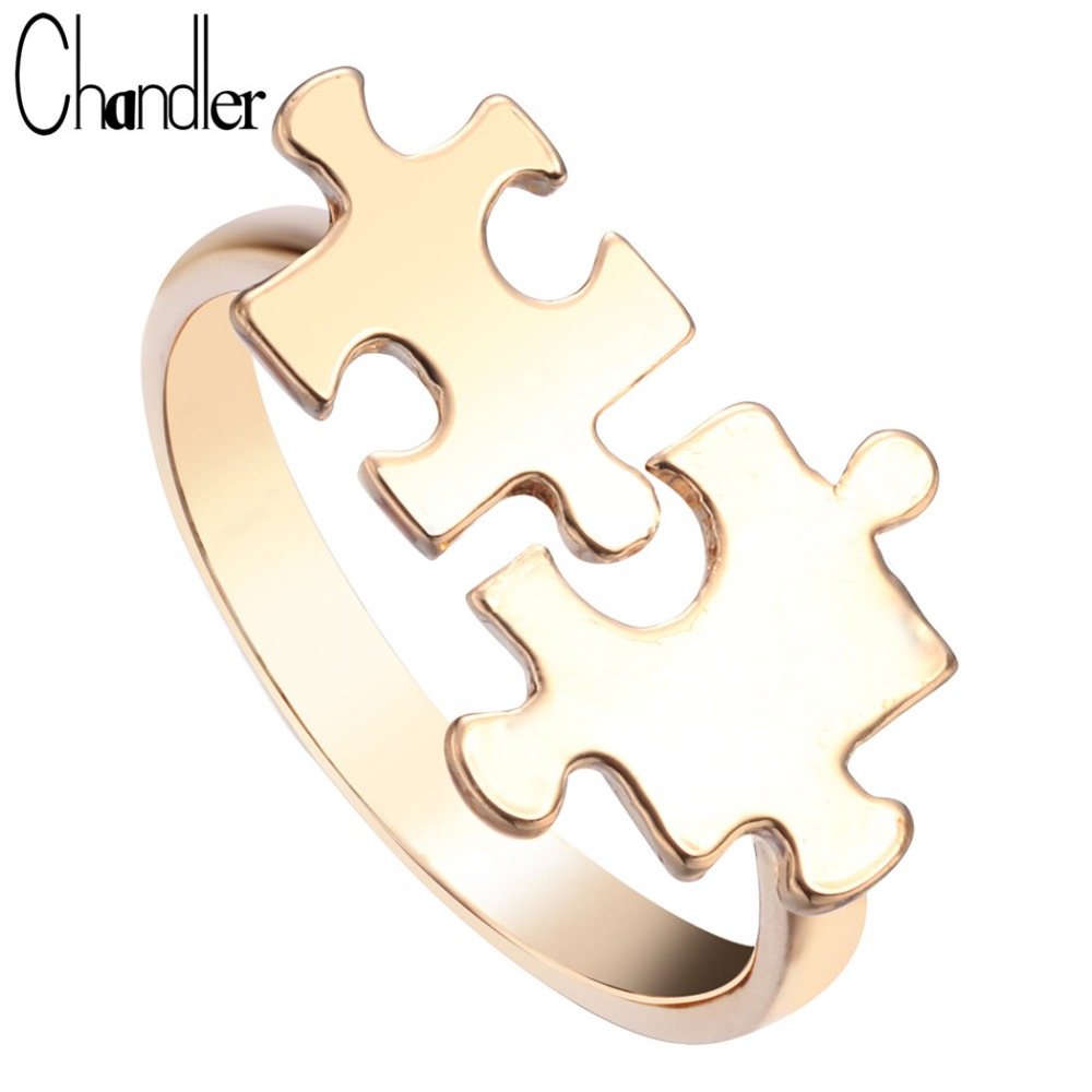 get cheap gold puzzle ring aliexpress