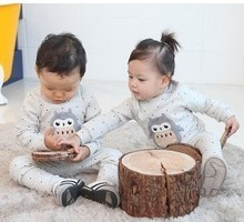 cheap funny infant pajamas for baby boy and girl clothes for todddlers trend nightwear 100% combed cotton baby pyjamas(China (Mainland))