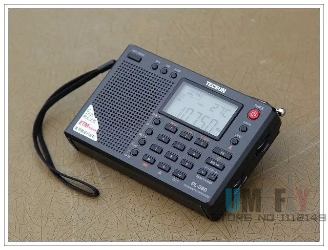 Tecsun PL 380 Portable Radio fm Stereo High performance low power multifunctional All band digital demodulation
