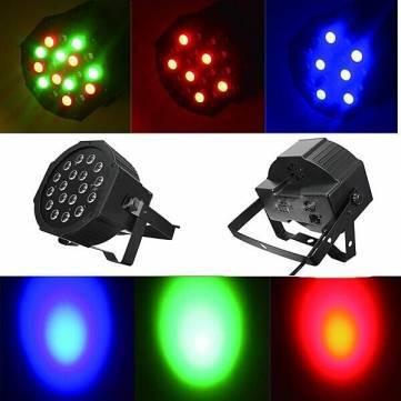 12pcs/lot Fast Shipping American DJ Mega Tri Par Profile Bright Stage LED Wash Light RGB Color Mixing 18x3W(China (Mainland))