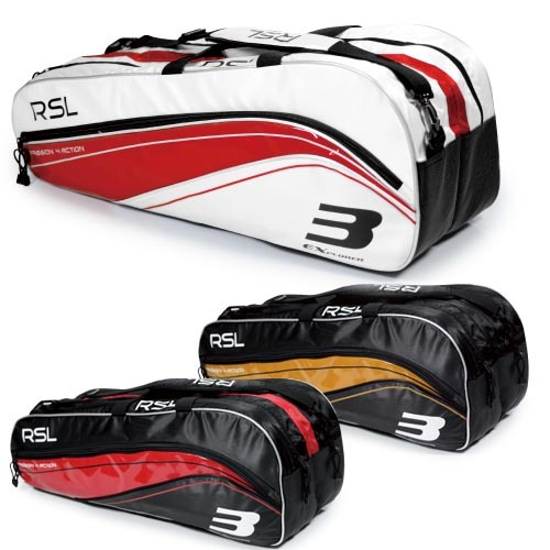 RSL Professional Badminton Bags Athletic Bags 909 for 12 Rackets,Sports Bag,Waterproof Top Quality Bags,for Men and Women L071(China (Mainland))