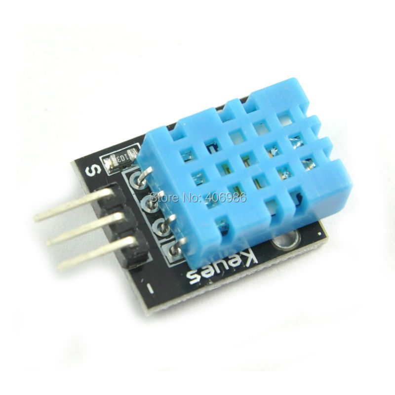 5pcs/lot New DHT11 Digital Temperature And Humidity Sensor Moudle Probe For Arduino FZ0068 Free Shipping Dropshipping(China (Mainland))